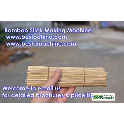Bamboo Stick Making Machine