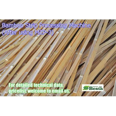 Bamboo Strip Processing Machine