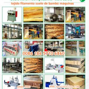 bambú máquina de cartón muebles