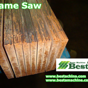 Strand Woven Board Frame Saw