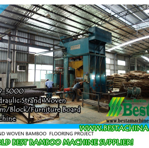 Strand Woven Beam Hydraulic Oil Press