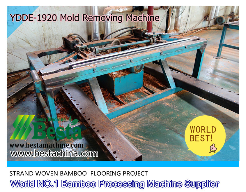 Strand Woven Bamboo Flooring Machine Demolding Machine