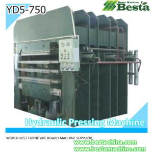 Solid Bamboo Furniture Board Pressing Machine