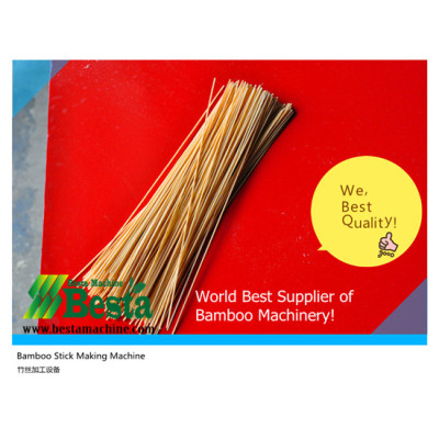 Bamboo Stick Making Machine (without knot)