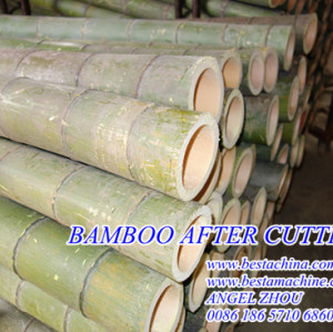 bamboo sawing machine, bamboo stick machineries