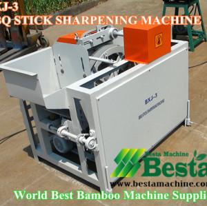 BBQ stick Making Machine, Bamboo Skewer Machine