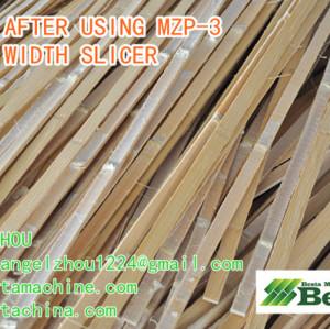 MZP-3 Strip Width Thickness Setting Machine, Bamboo Knot Removing Machine