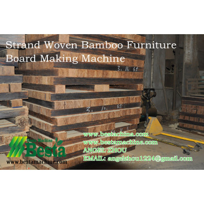 Strand Woven Bamboo Flooring Project