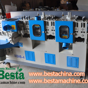 Four Side Bamboo Strip Planing Machine