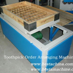Bamboo Toothpick Machine, Toothpick Order Arranging Machine