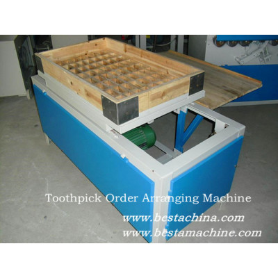 Toothpick Order Arranging Machine