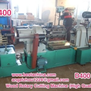 Wood Rotary Cutting Machine, ice-cream stick machine