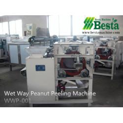 Wet Way Peanut Peeling Machine