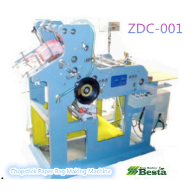 Chopstick Paper Bag Making Machine