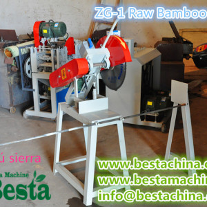 sierra de bambú, de bambú de la máquina de corte.