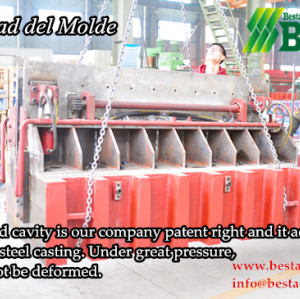 Mundo mejor tejido filamento de bambú piso de la máquina