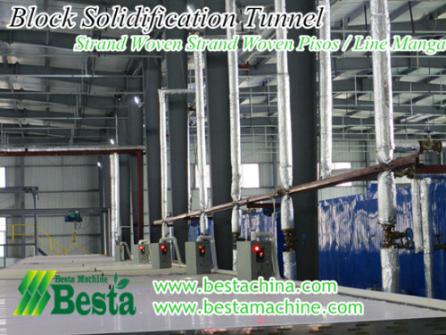 tejido filamento túnel solidificación haz