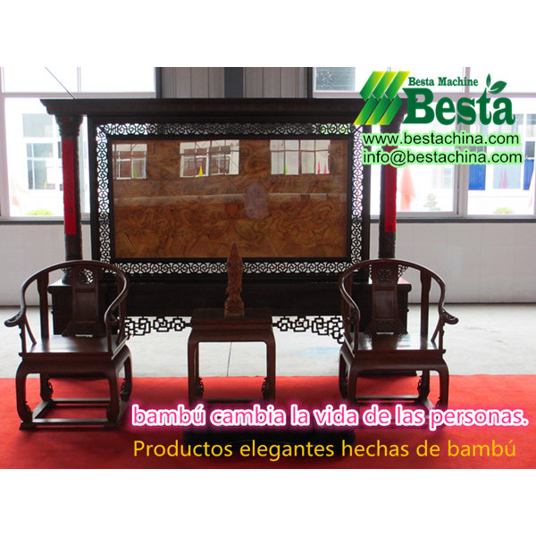 máquinas para la fabricación de muebles de bambú