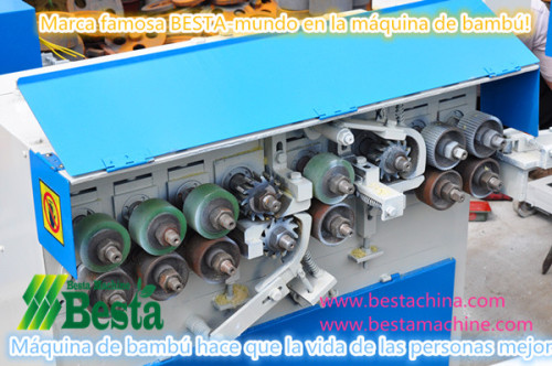 máquinas de palo de bambú