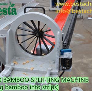 Bamboo Splitting Machine