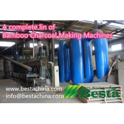 Bamboo Charcoal Making Machine