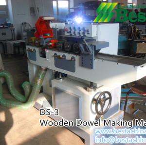 Wooden Dowel Stick Making Machine