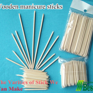 Wooden Manicure Stick Machine
