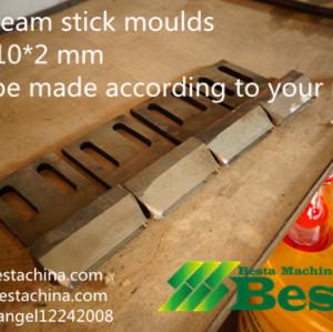 Ice cream stick moulds