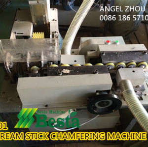 MQ-01 ICE-CREAM STICK CHAMFERING MACHINE