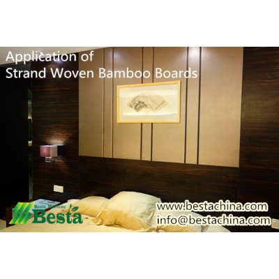 Strand Woven Bamboo Boards, Flooring Making Machines