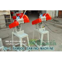 RAW BAMBOO SAWER, BAMBOO SAWING MACHINE