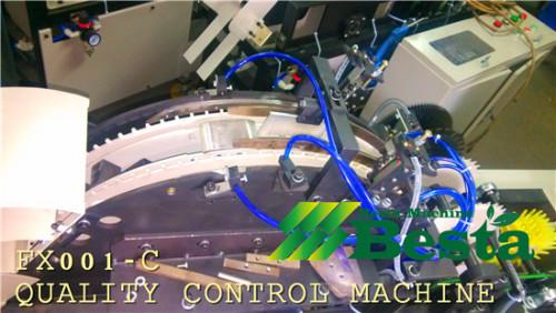 helado de máquina de control de calidad del palillo