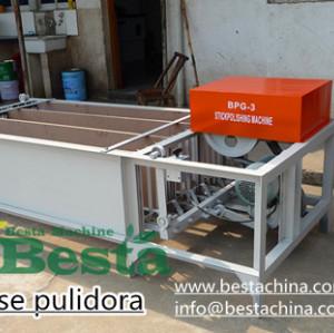 bbq stick polishing machine