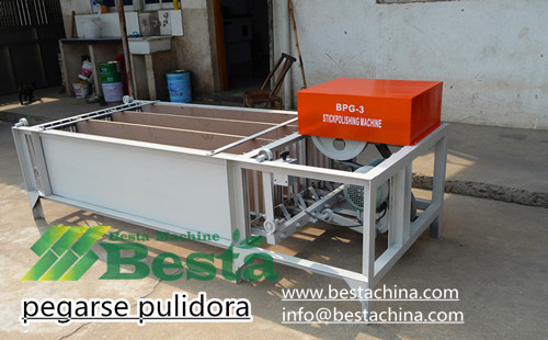 bbq stick polishing machine
