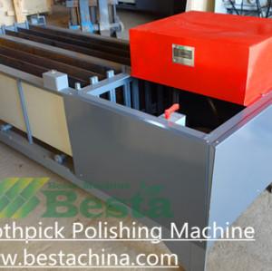 Toothpick Polishing Machine