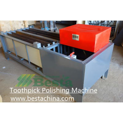 Toothpick Polishing Machine