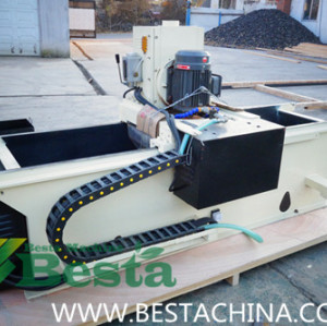 Blade sharpnening machine for rotary cutting blade