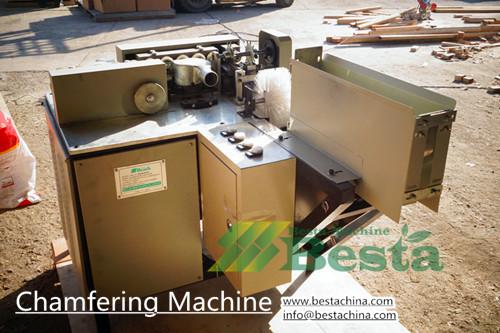máquina de biselado