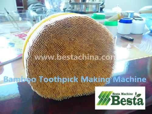 bambú máquina palillo de dientes