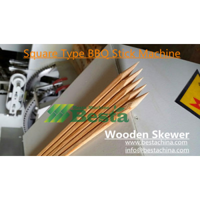 Wooden Skewer Making Machine