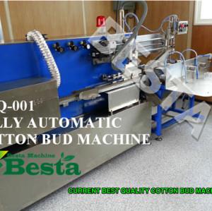 Cotton Bud Making Machine (Fully automatic)