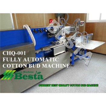 Cotton Bud Making Machine (Fully automatic)