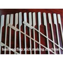 Bamboo Flag Skewer Making Machine , Branding Machine