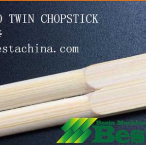China top quality twin chopstick production line, chopstick making machines