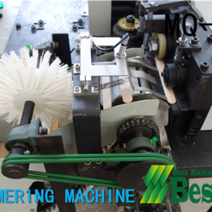 TONGUE DEPRESSOR STICK CHAMFERING MACHINE