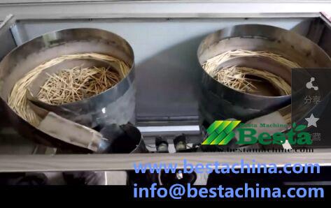 Toothpick Plastic Container Filling Machine