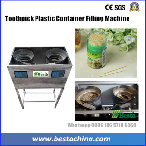 Toothpick Plastic Container Filling Machine