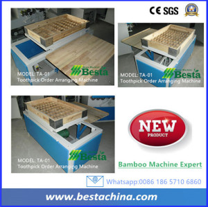 Toothpick Order Arranging Machine, Bamboo Toothpick Machine
