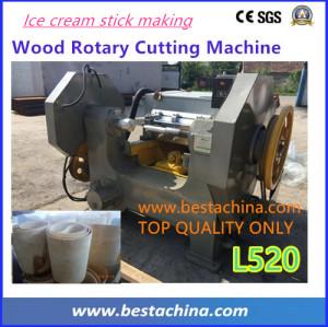 High quality wood rotary cutting machine, ice cream stick machine supplier