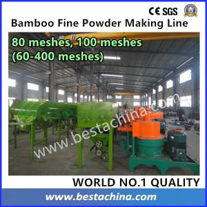 100 Mesh Bamboo Powder Making Machine